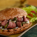 Tex-Mex Steak Torta